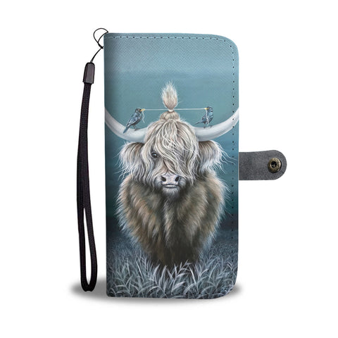 Image of Highland Cattle - Wallet Phone Case | Special Custom Design