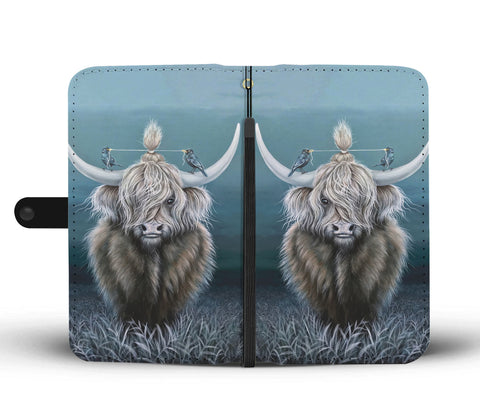 Highland Cattle - Wallet Phone Case | Special Custom Design