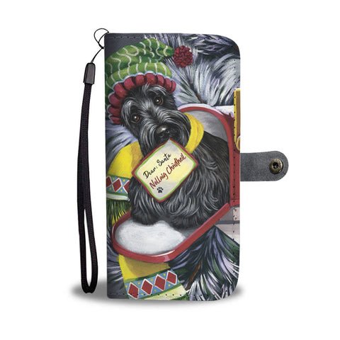 Christmas Scottie Letter For Santa - Wallet Phone case | HOT SALE