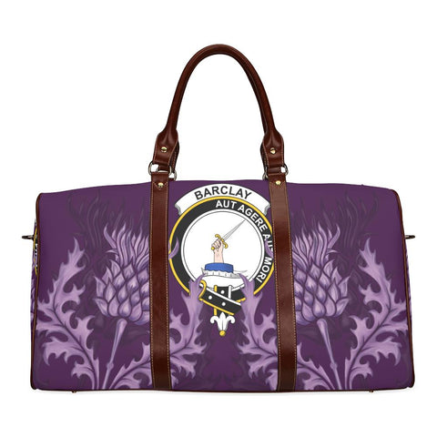 Barclay Crest Scottish Thistle Scotland Travel Bag | Over 300 Clans