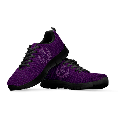 Image of Scottish Thistle Purple Edition - Scotland Sneakers