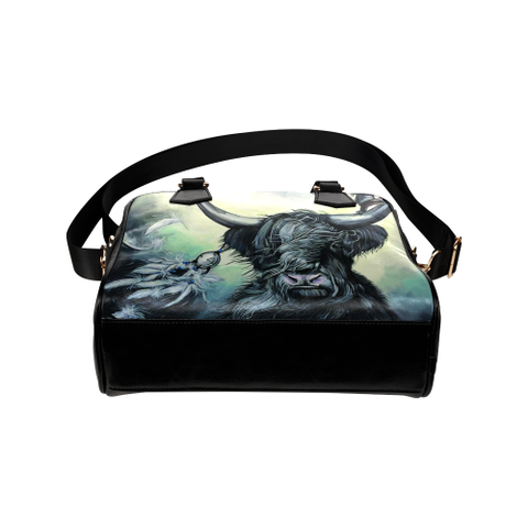 Image of Scottish Highland Cow - Shoulder Handbag | Special Custom Design