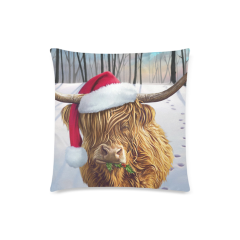 Image of Christmas Cow - Pillow Covers | Special Custom Design