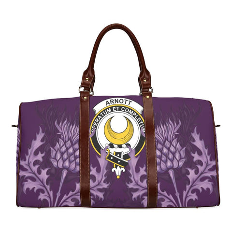 Arnott Crest Scottish Thistle Scotland Travel Bag A7