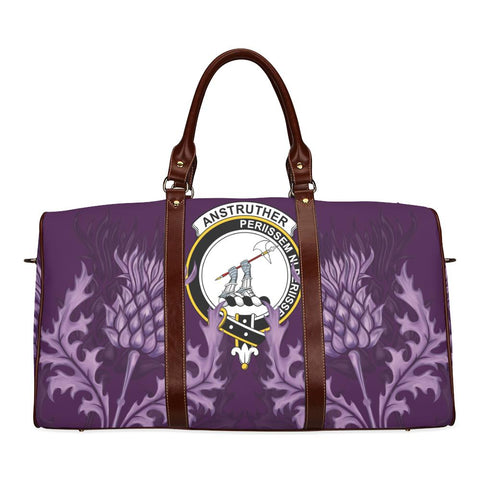 Image of Anstruther Crest Scottish Thistle Scotland Travel Bag A7