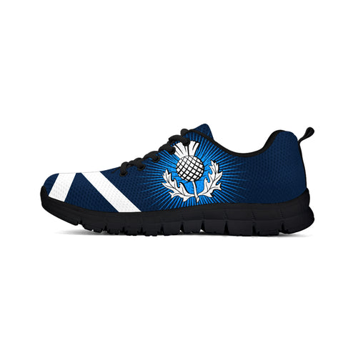 Retro Thistle Saltire Men/Women/Kid Sneaker