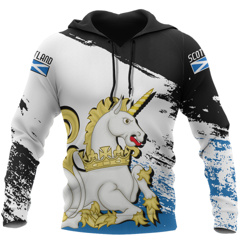 Scotland Royal Unicorn Pullover Hoodie | Clothing | Love Scotland
