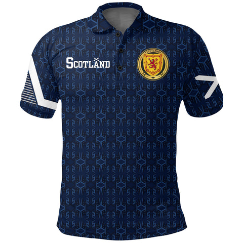 1stScotland Home Polo Shirt - 1991 Style A7