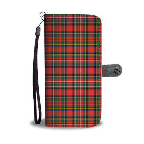 Scotland Tartan Wallet Case