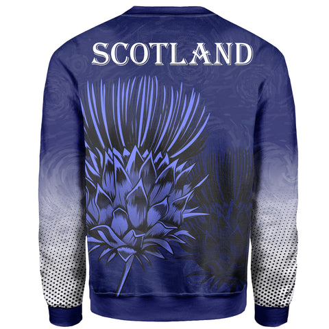 Scottish Thistle - Flower of Scotland Sweatshirt | 1stscotland.com