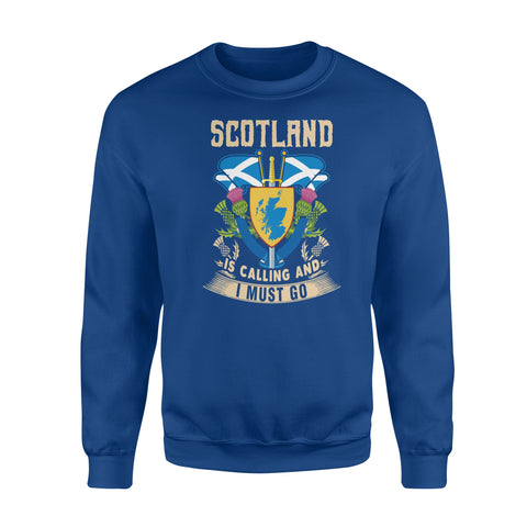 Scotland Flag Premium Fleece Sweatshirt