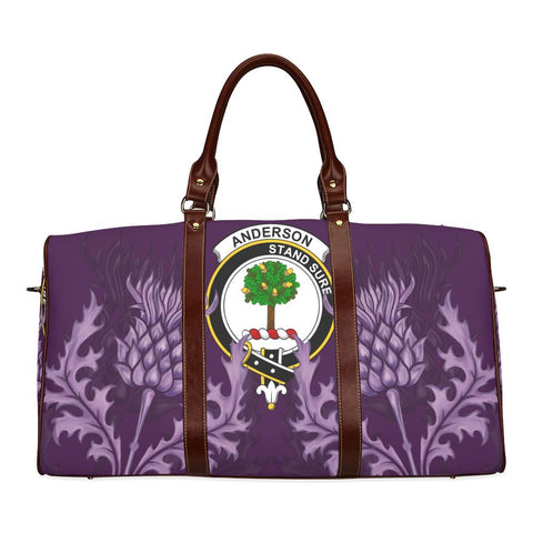 Anderson Crest Scottish Thistle Scotland Travel Bag | Over 300 Clans
