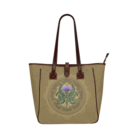 Image of Luxurious Thistle Scottish - Classic Tote Bag | Special Custom Design