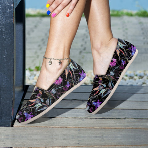 Scotland Thistle Pattern 02 - Women's Casual Shoes | HOT SALE