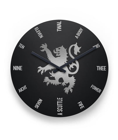 Image of Scotland Wall Clock - Rampant Lion | Special Custom Design