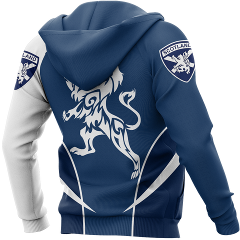Image of Scottish Rampant Lion Active Special Zipper Hoodie