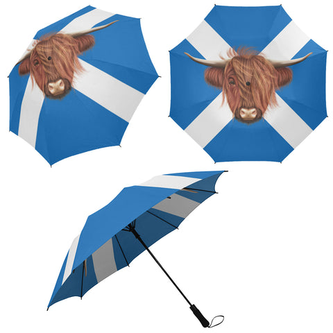 Image of Coo And Saltire Umbrella