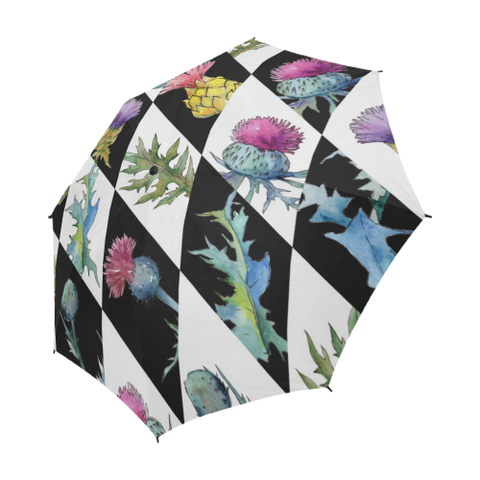 Scottish Thistle Pattern - Scotland Umbrella | HOT Sale