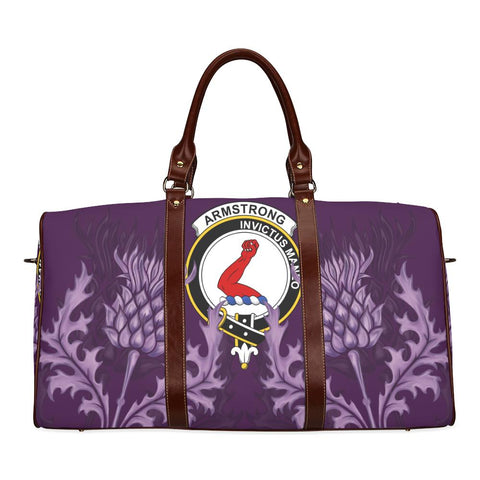 Image of Armstrong Crest Scottish Thistle Scotland Travel Bag A7