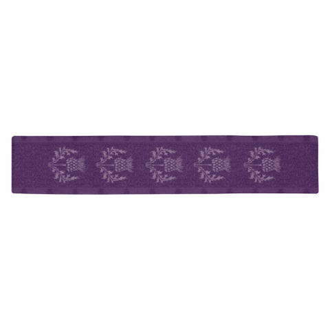 Scotland Table Runner - Purple Thistle | HOT Sale