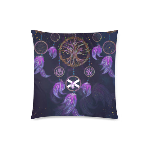Scotland Pillow Case - Dream Catcher Celtic Tree Of Life A24