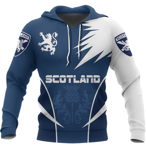 Image of Scotland Hoodie, Scottish Rampant Lion All Over Print Hoodie