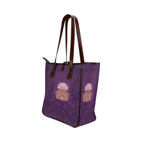 Thistle Vintage (Purple Version) - Classic Tote Bag | HOT SALE