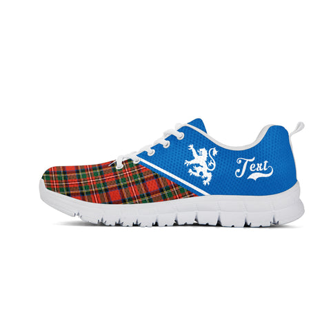 Custom - Scotland Rising Sneakers