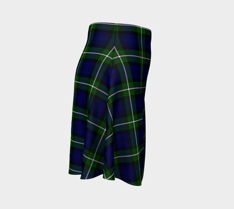 Tartan Flared Skirt - Forbes Modern |Over 500 Tartans | Special Custom Design | Love Scotland