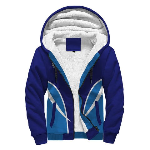 Auchinleck or Affleck Crest Sherpa Hoodie - Active | Over 300 clans