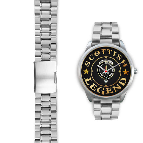 Auchinleck or Affleck Crest Watch - Silver | Over 300 clans