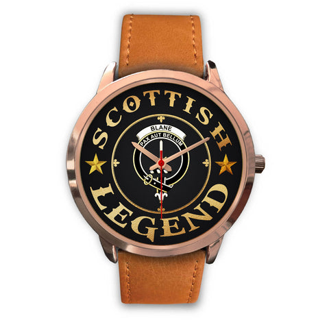 Image of Blane Crest Watch - Rose Gold | Accessories Scottish Clans