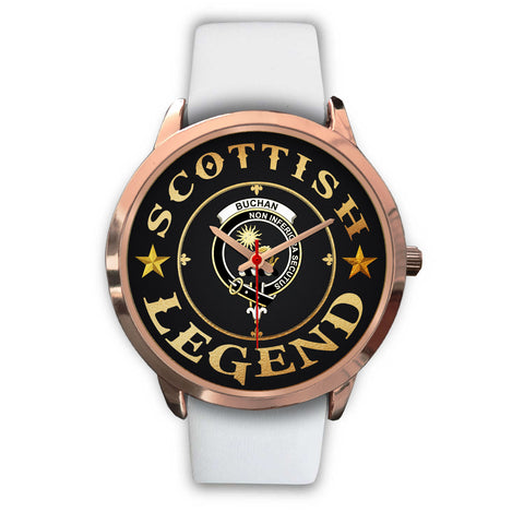 Image of Buchan Crest Watch - Rose Gold | Accessories Scottish Clans