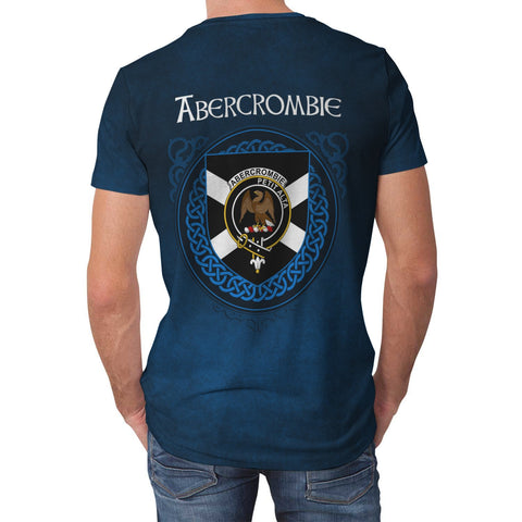 Abercrombie Crest Scotland T-Shirt | Over 300 Clans