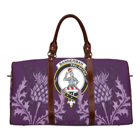 Bannerman Crest Scottish Thistle Scotland Travel Bag A7