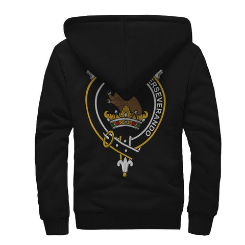 Beveridge (Beveridge-Duncan) Crest Sherpa Hoodie (Women's/Men's) | Unisex Clothings