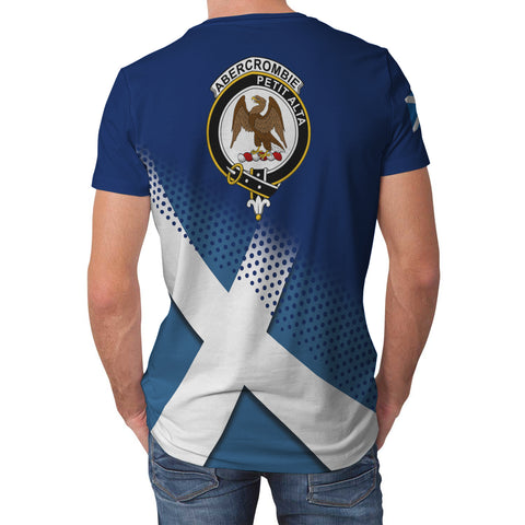 Abercrombie Scottish Dots Flag Scotland Sherpa Hoodie | Over 300 Clans