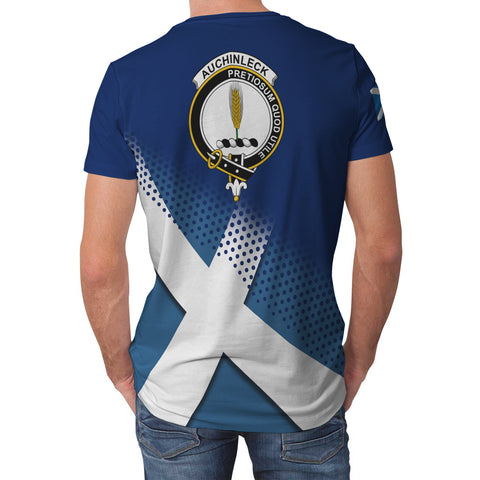 Auchinleck or Affleck Scottish Dots Flag Scotland Sherpa Hoodie | Over 300 Clans