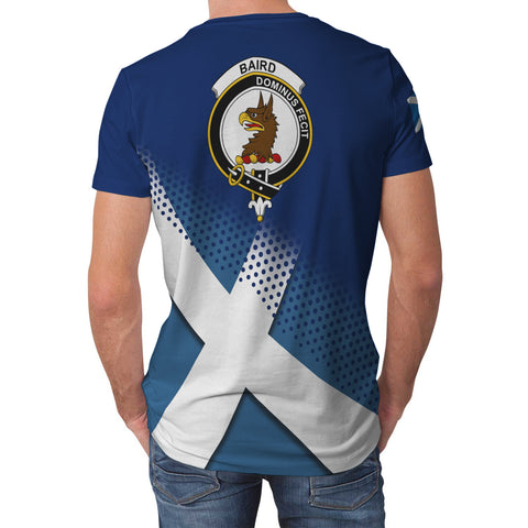 Baird Scottish Dots Flag Scotland Sherpa Hoodie | Over 300 Clans