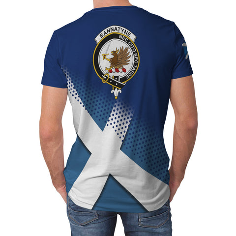 Bannatyne Scottish Dots Flag Scotland Sherpa Hoodie | Over 300 Clans