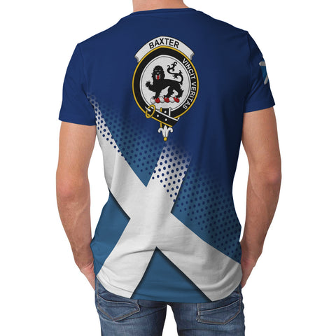 Baxter Scottish Dots Flag Scotland Sherpa Hoodie | Over 300 Clans