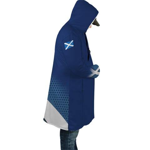 Image of Allardice Crest Scottish Dots Flag Scotland Cloak | Over 300 Clans