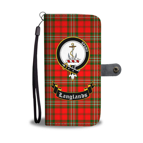 Image of Tartan Wallet Case - Langlands Clan A9