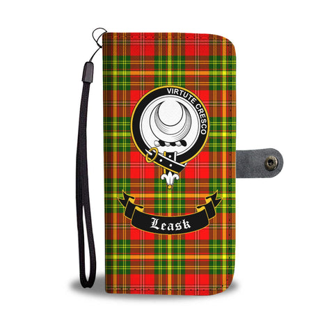 Tartan Wallet Case - Leask Clan A9