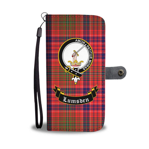 Image of Tartan Wallet Case - Lumsden Clan A9