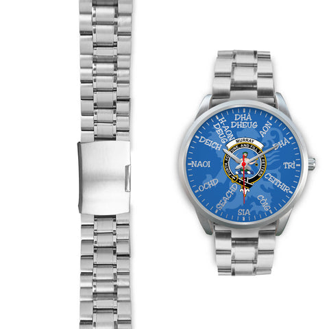 Scotland Watch, Murray of Athole Crest Scottish Lion Watch | Scotland Accessories