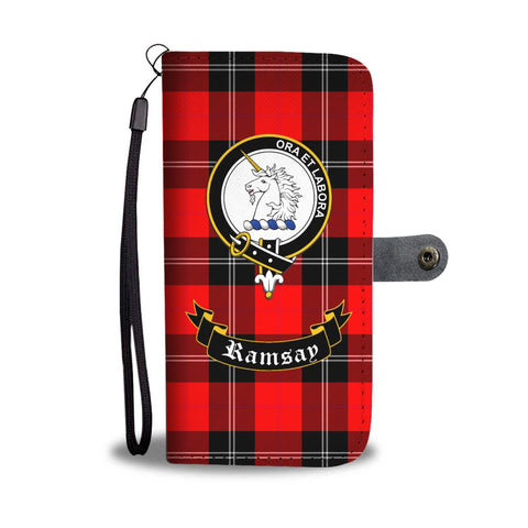 Image of Tartan Wallet Case - Ramsay Clan A9