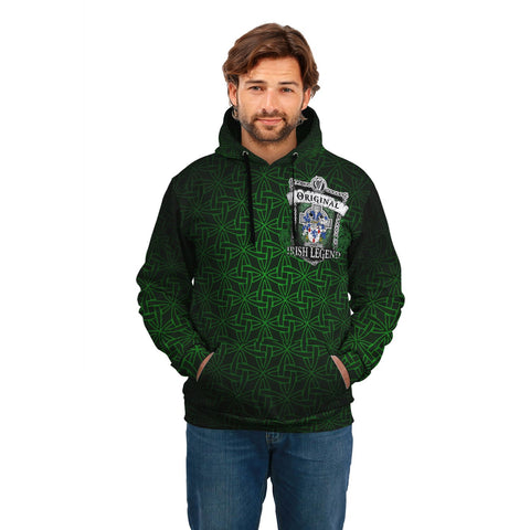 Adair Ireland Hoodie - Original Irish Legend (Women's/Men's) | Over 1400 Crests | Clothing | Apparel