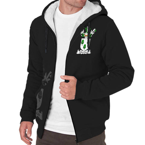 Aikenhead Family Crest Sherpa Hoodie (Women's/Men's) | Over 1200 Crests | Clothing | Apparel