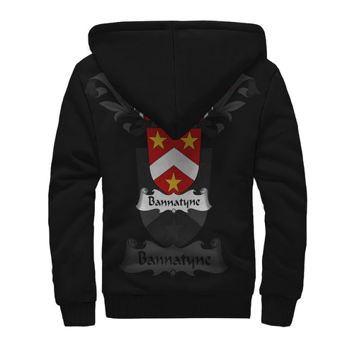 Bannatyne Family Crest Sherpa Hoodie (Women's/Men's) | Over 1200 Crests | Clothing | Apparel